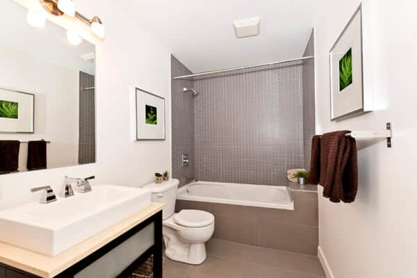 Image of completed bathroom