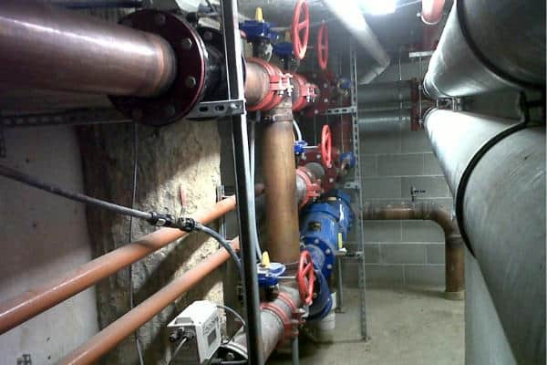 Underground plumbing pipes and systems