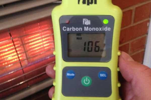 Heating system temperature recorder
